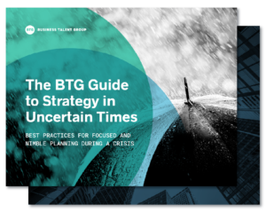 "Thumbnail Image of ""The BTG Guide to Strategy in Uncertain Times"" ebook cover"