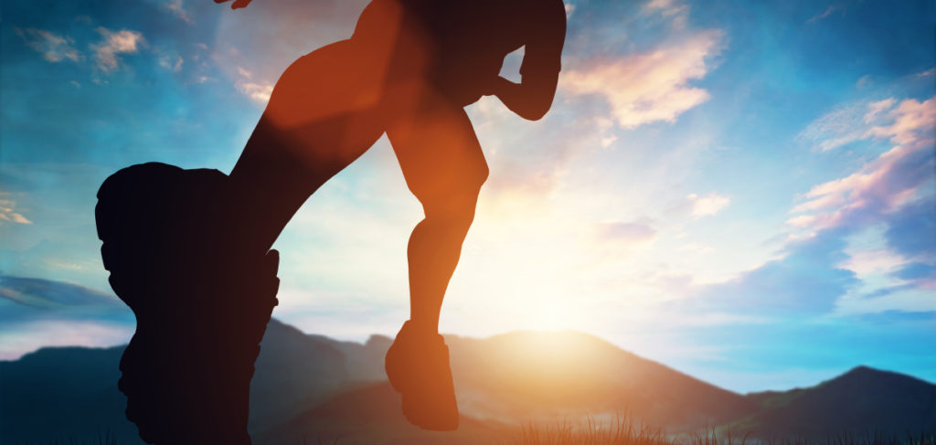 How To Hit The Ground Running On A New Independent Consulting Engagement - person gearing up to go on a run